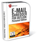 E-Mail Shredder for Outlook - permanently shred and erase e-mail in Outlook 2003 and Outlook 2007. Permanently erases and removes information