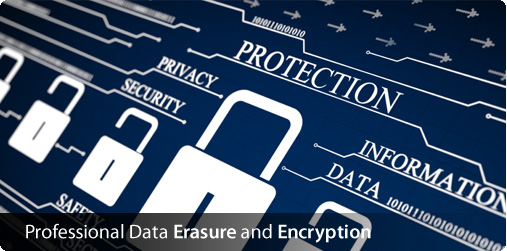 Professional Data Erasure and Encryption